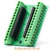 DE Lager ! IO Shield Schraubleiste Breakoutboard BAUSATZ  für Arduino Nano Board