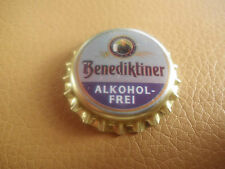Unused, Gold-Blue Bottle Caps Benedictine Alcohol Free