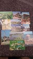 Group Of 11 Miami Florida Doral Country Club Vintage Postcards K23369