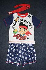 Jake and The Neverland Pirates Pyjama size 2-3 years Set Top Shorts Headband