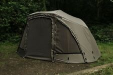 "Fox Ultra 60"" Khaki Ventec Ripstop Brolly System Carp Fishing Shelter - CUM220"