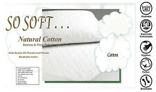 Queen Size100% Cotton Cover 200GSM Fill Fully F 100% Cotton Mattress Protectors