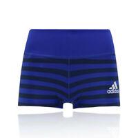 adidas Womens Adizero Booty Shorts Pants Trousers Bottoms Black Blue Sports