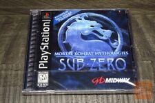 Mortal Kombat Mythologies: Sub Zero (PlayStation 1 PS1) FACTORY SEALED! - EX!