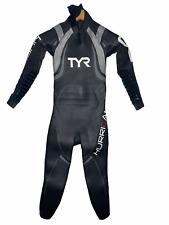 NEW TYR Mens Full Triathlon Wetsuit Size Small Hurricane Cat 3 - Retail $649