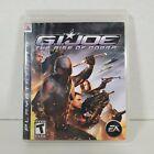 G.I. Joe The Rise Of Cobra (Sony PlayStation 3, 2009) PS3 TESTED!
