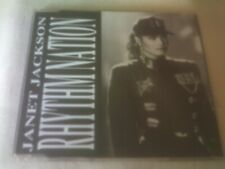 JANET JACKSON - RHYTHM NATION - 1989 3 MIX CD SINGLE