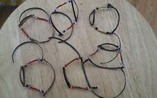 Breyer Peter Stone  Schleich collecta custom halter lot  bead colorful six