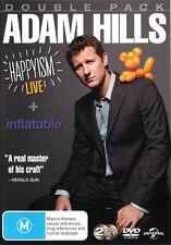 Adam Hills: Happyism - Live / Adam Hills: Inflatable NEW DVD Region 4 Australia