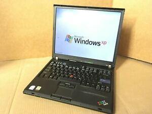 "IBM ThinkPad T60 14"" Core 2 Duo  1.86GHz T2400 1GB RAM 60GB HDD WINDOWS XP WIFI"