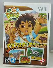 Go Diego Go Safari Rescue, Complete,  Nintendo Wii