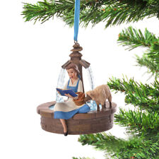 Disney Store Japan Ornament Singing Beauty and the Beast Belle
