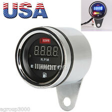 12V LED Tachometer Fuel Gauge for Harley Davidson XL Sportster 1200 883