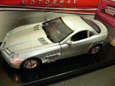 1/24 Motor Max MB SLR McLaren silber 73306