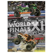 2010 Monster Jam World FInals XI DVD New Sealed! Free Shipping!