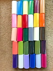 """Brand New Tulle Roll 6""""x25Yards over 20 colors $1.50 if buy 4+"""
