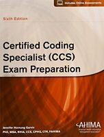 Certified Coding Specialist (CCS) Exam Preparation by Garvin, Jennifer Hornung