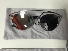 62cc8ab83412 Christian Dior Dior SO REAL APPDC Silver Mirror with Crystal Black  Sunglasses