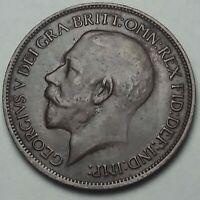 1917 GREAT BRITAIN 1/2 HALF PENNY GEM NICE CHOICE HIGH GRADE (DR)