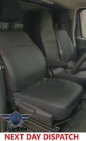 RENAULT TRAFIC 2019 - 2021 ARTIFICIAL LEATHER TAILORED FRONT SEAT COVERS