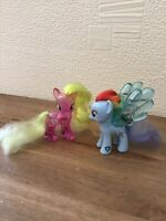 HASBRO My Little Pony Water Cuties Collectibles Flower Wishes & Rainbow Dash