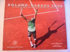 ROLAND-GARROS 2008, VU PAR LES PLUS GRANDS PHOTOGRAPHES DE TENNIS-LIVRE OFFICIEL