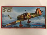 Vintage Pioneer 2 Model Kit Fokker D-XX1 1/72 Scale Model Kit Series 3 No.3004