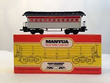 MANTUA 1890 Passenger Car Baltimore & Ohio 803-25 B&O Old Time Coach Car HO tyco