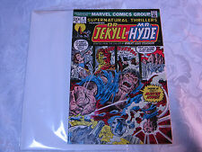 DR JEKLL AND MR HYDE NO. 4 JUNE 1970'S MARVEL COMIC   T*