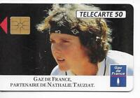 RARE / CARTE TELEPHONIQUE - NATHALIE TAUZIAT : TENNIS / PHONECARD TELEFONKARTE