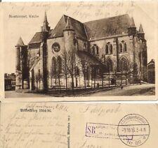 AK Feldpost vom 9.10.1916 Montcornet Kirche