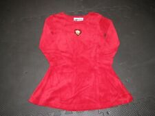 Acme Kids Little Girls Tweety Velour Party/Holiday Dress, Red, Sz Sm, Grt Cond