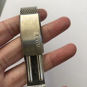Timex Stainless Steel Metal Mens Watch Strap 16.5cm
