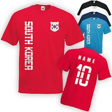 Südkorea South Korea T-Shirt Trikot incl. Name & Nummer Mini WM 2018