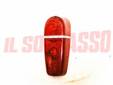 PLASTIC RIGHT SIDE REAR LIGHT FIAT 600 2 RED SERIES EXPORT ORIGINAL