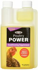 Durvet Poultry Power Conditioning supplement Omega 3 & 6 16oz
