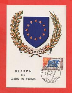 FDC 1969 - Blason du Conseil de l'Europe   (K160)