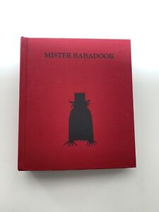 THE BABADOOK Mister Babadook Limited Editon Signed Horror Book Collectors Item