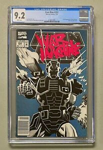 IRON MAN #282 Marvel Comics 1992 CGC 9.2 War Machine 1st Full Appearance