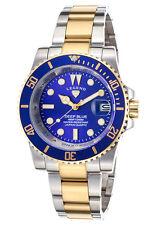 Legend Deep Blue Silver Gold Watch LD-1001-SG-33