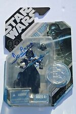 David Prowse Signed AUTOGRAPHED Darth Vader Star Wars ACTION figure signature