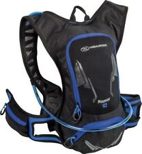 Highlander Raptor 10 Hydration Pack Black & Blue, Hydro Bag, 10 Litre Rucksack
