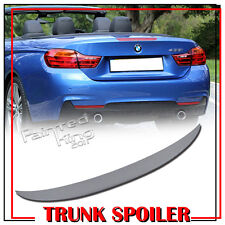 UNPAINTED BMW 4-Series F33 Cabrio Performance Style Trunk Boot Spoiler 2017
