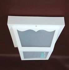 Ceiling Lantern Exterior White 1 Light 60 Watt Gustafson NEW