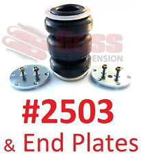 BOSS #2503 Triple Air Bag & end plates airbag suspension load assist dump kit