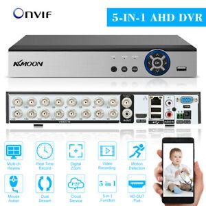 KKmoon 16CH 1080P Hybrid AHD TVI CVI HVR NVR DVR CCTV Digital Video Recorder EU