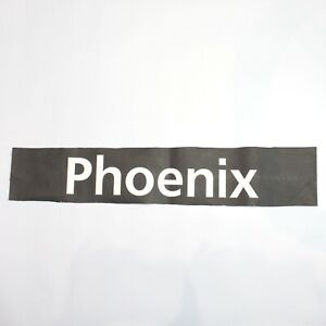 Phoenix Bus blind destination vintage printed West Midlands 1994