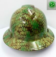 FULL BRIM Hard Hat custom hydro dipped , NEW NINJA TURTLE SHELL  NEW