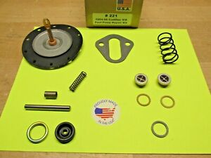 1954 1955 1956 CADILLAC SERIES 62 V8 331 365 AC 4269 FUEL PUMP KIT TODAY'S FUELS