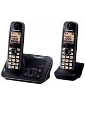 PanasonicKX-TG6622EB Cordless Phone with Answering Machine: 2 Handsets